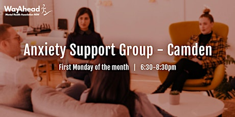 Camden Anxiety Support Group tickets