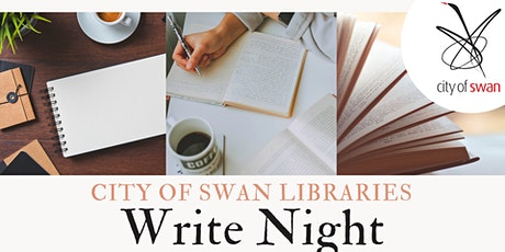 Write Night (Midland ) tickets