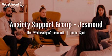 Jesmond Anxiety Support Group tickets