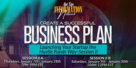 Create a Successful Business Plan - Launching Your Startup tickets