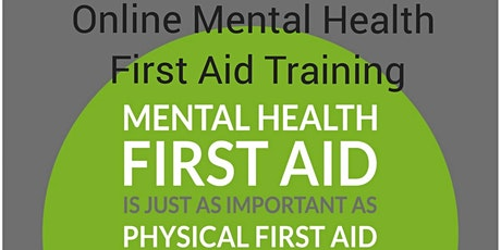 Mental Health First Aid Training - Become  a Mental Health First Aider tickets