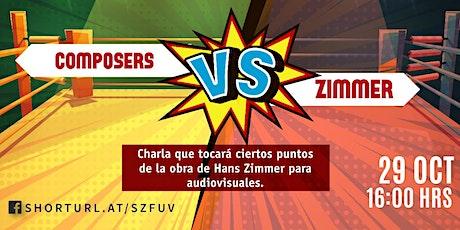 Composers vs Zimmer boletos