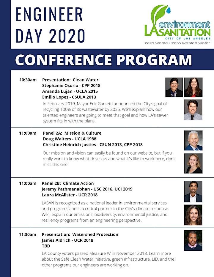 LA Sanitation & Environment's Engineer Day 2020 image