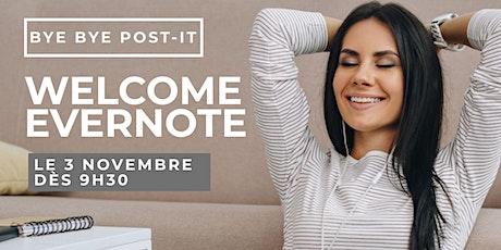 Atelier virtuel - Comment booster sa productivité avec Evernote tickets
