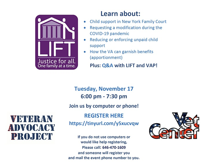 Legal Lab: Child Support and Veterans Benefits image