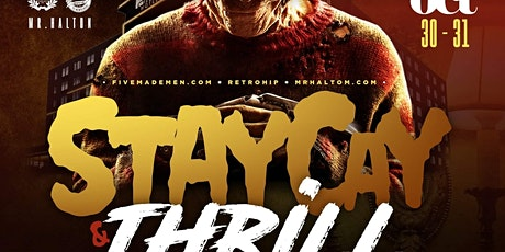 StayCay and Thrill Halloween Weekend Getaway | 3 Events in One tickets