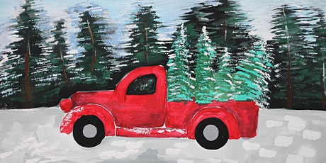 Painting Red Truck in the Forest, Art Class for Kids of age 6 - 13 tickets