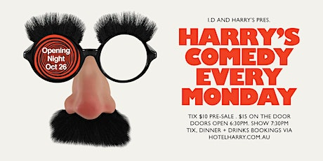 Harry's Comedy - November tickets