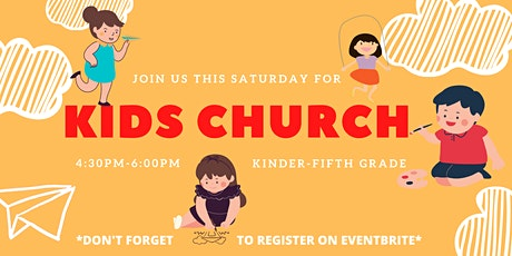 Kids Church tickets