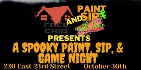 Paint, Sip, & Game Night tickets