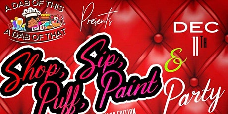 A Dab Of This and A Dab Of That  Presents Shop Sip Puff Paint & Party tickets