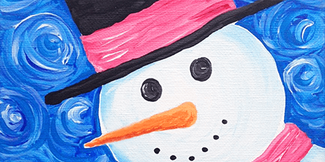 Painting Snow Man, Art Class for Kids of age 5 - 13 tickets