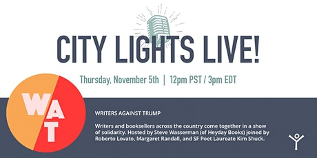 Writers Against Trump tickets