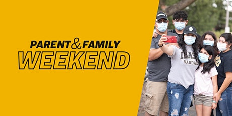 Parent & Family Weekend 2020 tickets