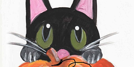 Painting Cat and Pumpkin, Art Class for Kids age 6 -13 tickets