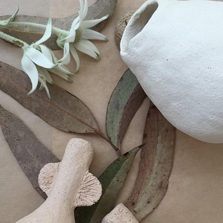 Organic Nature Vessels - Hand building with Clay (4 week course) image
