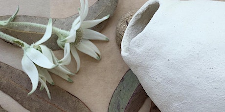 Organic Nature Vessels - Hand building with Clay (4 week course) tickets