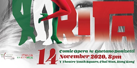 """Rita"" - Comic Opera in One Act by Gaetano Donizetti tickets"