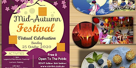 Mid-Autumn Festival - Virtual Celebration tickets