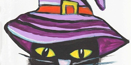 Black Cat in a Hat, Art Class for Kids of age 6 - 13 tickets