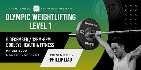 The M3 Barbell Curriculm: Olympic Weightlifting Level 1 tickets