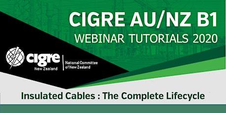 2020 CIGRE AU/NZ B1 WebTute 2 - Cable Circuit Design: Fields & Ratings tickets