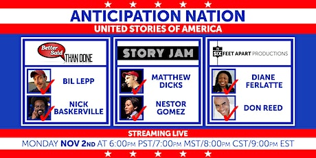Anticipation Nation - United Stories of America tickets