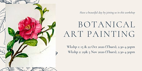 Botanical art (Watercolour pencil drawing and Painting class) tickets