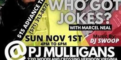 Who got Jokes tickets