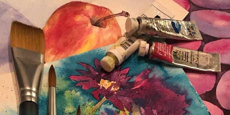 Beginning Watercolor:  Learn How to use Glazing tickets