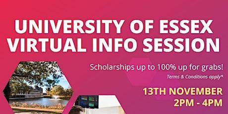 University of Essex Virtual Info Session tickets