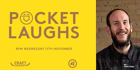 Pocket Laughs - November Edition tickets