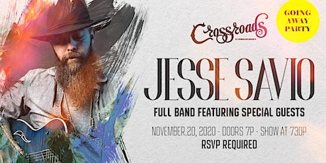 Jesse Savio - Going Away Party! tickets