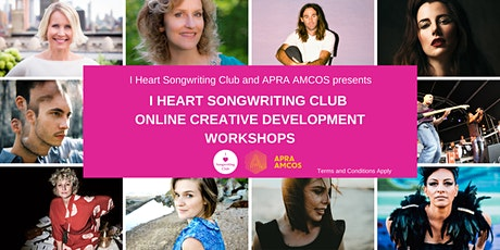 I HEART SONGWRITING CLUB - THE POWER OF WORDS - with Anthony Snape tickets
