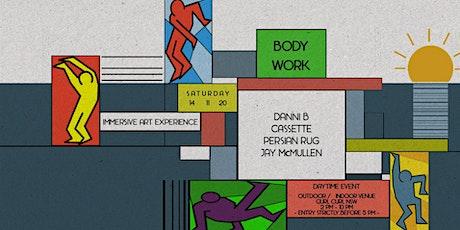 The BODYWORK Immersive Art Experience tickets