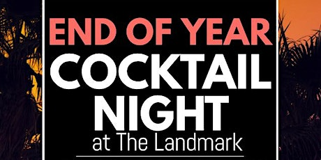 End of 2020 Cocktail Night. tickets
