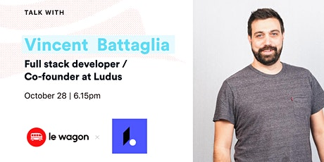 Apero Talk with Vincent Battaglia, full-stack developer tickets