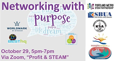 BESThq's:  VIRTUAL Networking with Purpose –  Profit & STEAM (10/29)