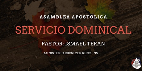 Servicio Dominical tickets