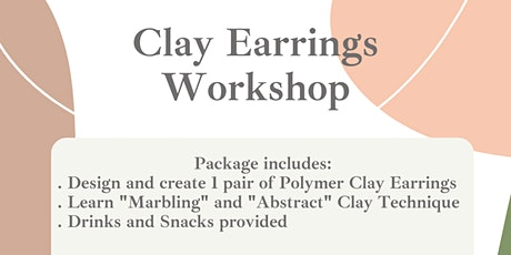 Clay Earrings Workshop tickets