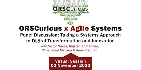 Panel Discussion: A Systems Approach to Digital Transformation & Innovation tickets