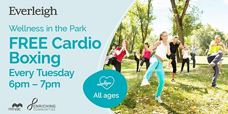Cardio Boxing at Everleigh Park tickets