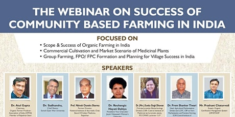 SUCCSESS OF COMMUNITY BASED FARMING IN INDIA tickets
