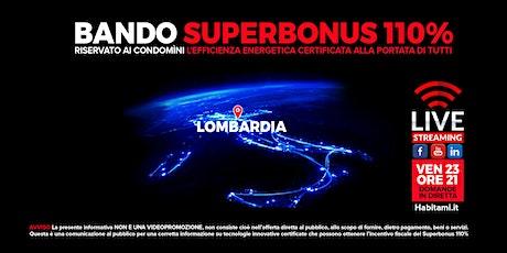 Bando Condomìni 2021, efficienza energetica con il Superbonus 110 % biglietti