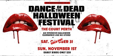 Dance of the Dead Halloween Festival SUNDAY 1st November tickets