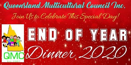 Queensland Multicultural Council Inc - End of Year Dinner 2020 tickets