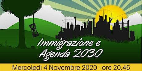 Immigrazione e Agenda 2030 biglietti