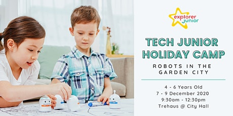 Tech Junior Holiday Camp - Robots in the Garden City tickets