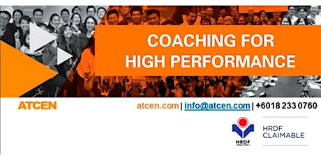 Coaching For High Performance tickets