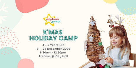 STEAM X'mas Holiday Camp tickets